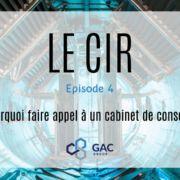 CIR #4 : Faire appel à un cabinet de conseil