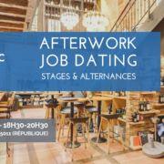 Job Dating Stages & Alternances