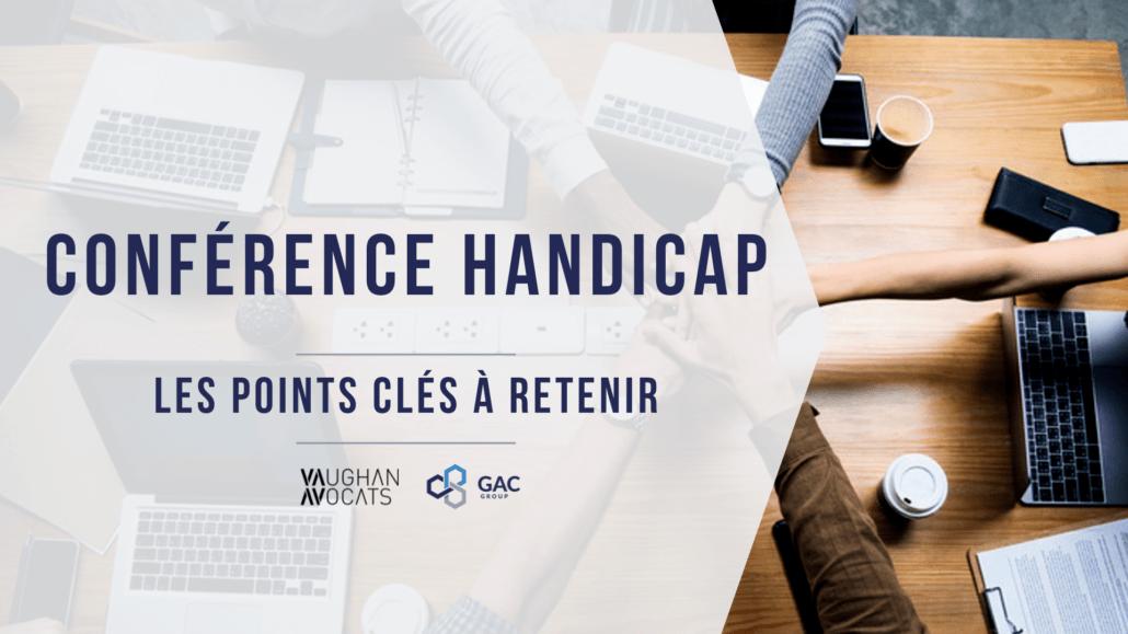 Key points handicap conference