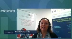 Marielle Campanella (photo), coordinatrice du projet IoT4Industry