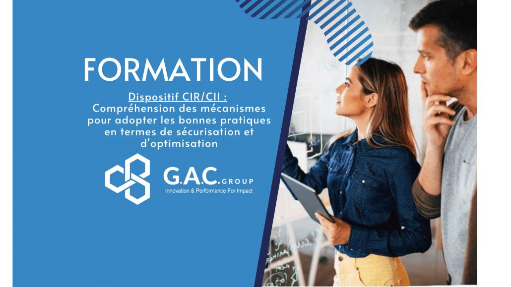 Formations CIR CII